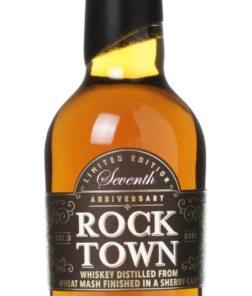 Rock Town 7th Anniversary Whiskey